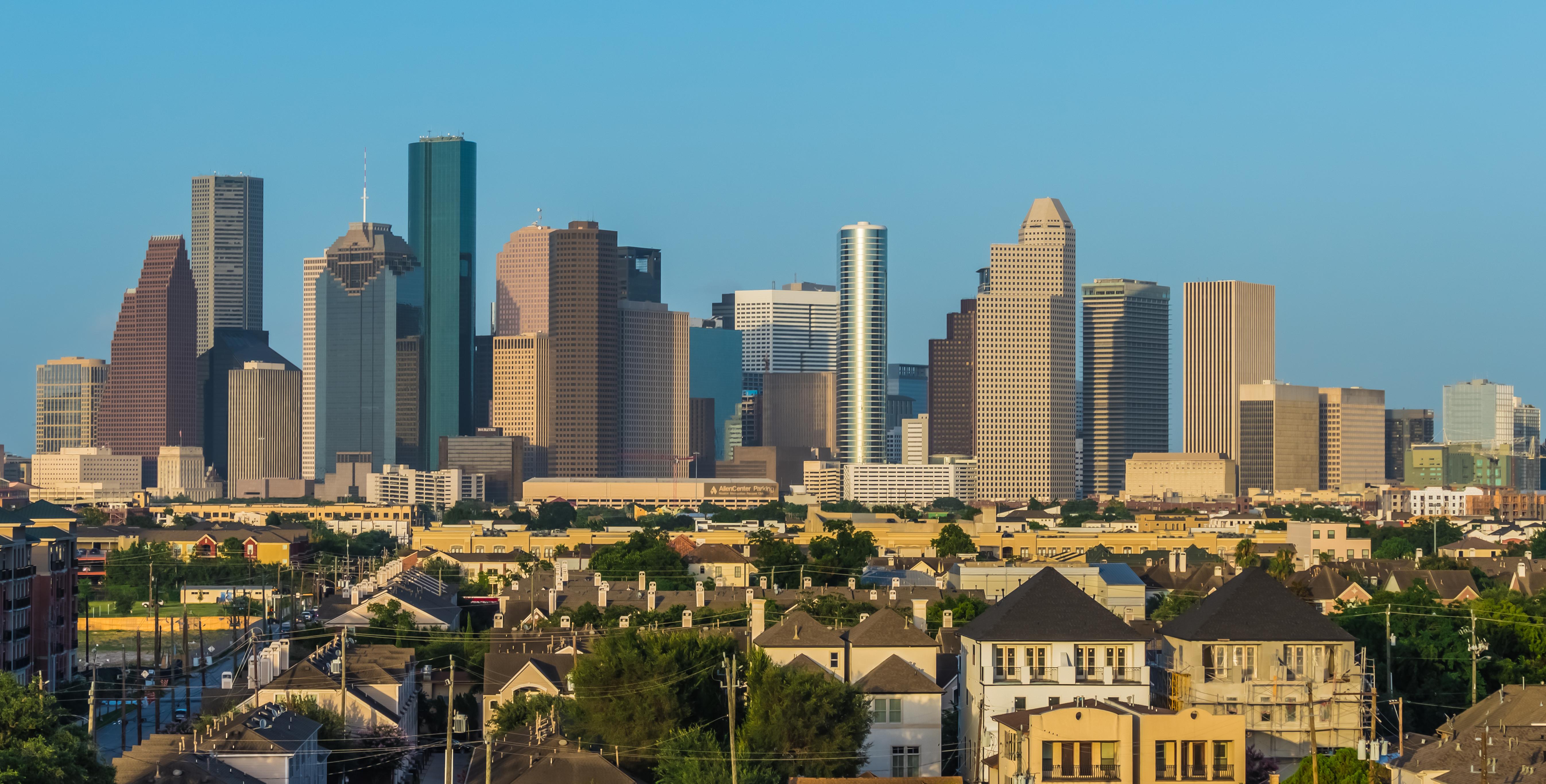 barre di aggancio a Houston