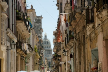 Le strade de La Habana Vieja, Avana.