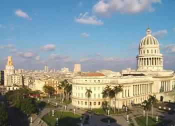 Il Capitolium Nacional de La Avana.