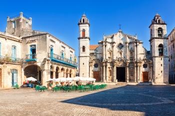 Plaza de la Catedral, Avana.