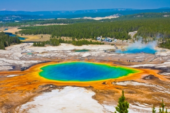Il Grand Prismatic Spring, perla dello Yellowstone National Park