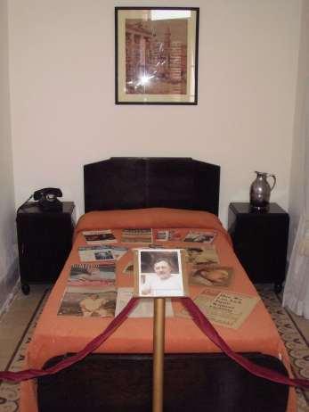 La camera di Hemingway all'Hotel Ambos Mundos, La Avana.