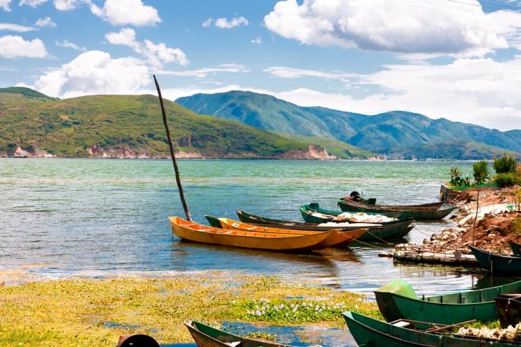 Lago Erhai Yunnan
