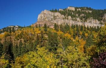 Le ultime scene di Balla Coi Lupi vennero girate nel meraviglioso Spearfish Canyon.