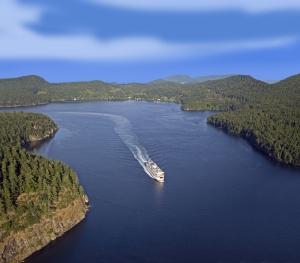 Vancouver Island Ferry Inside Passage