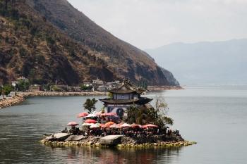 Yunnai isola Erhai lago Jinsuo