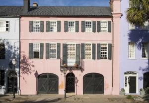 Letteratura Southern Viaggio Charleston Rainbow Row