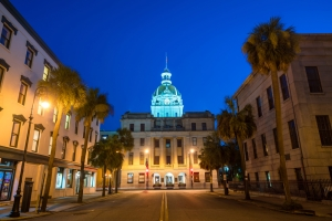 Letteratura southern Savannah City Hall
