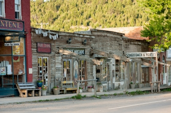 La città fantasma di Virginia City, Montana