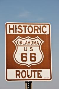 Letteratura Historic Route 66 Oklahoma Steinbeck Furore
