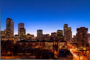 Libri Rocky Mountains skyline Denver